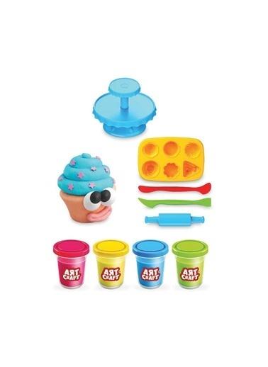 Fen Toys Fen Toys 03273 34 X 70 Art Craft Renkli Kapkek Hamur Seti Renkli